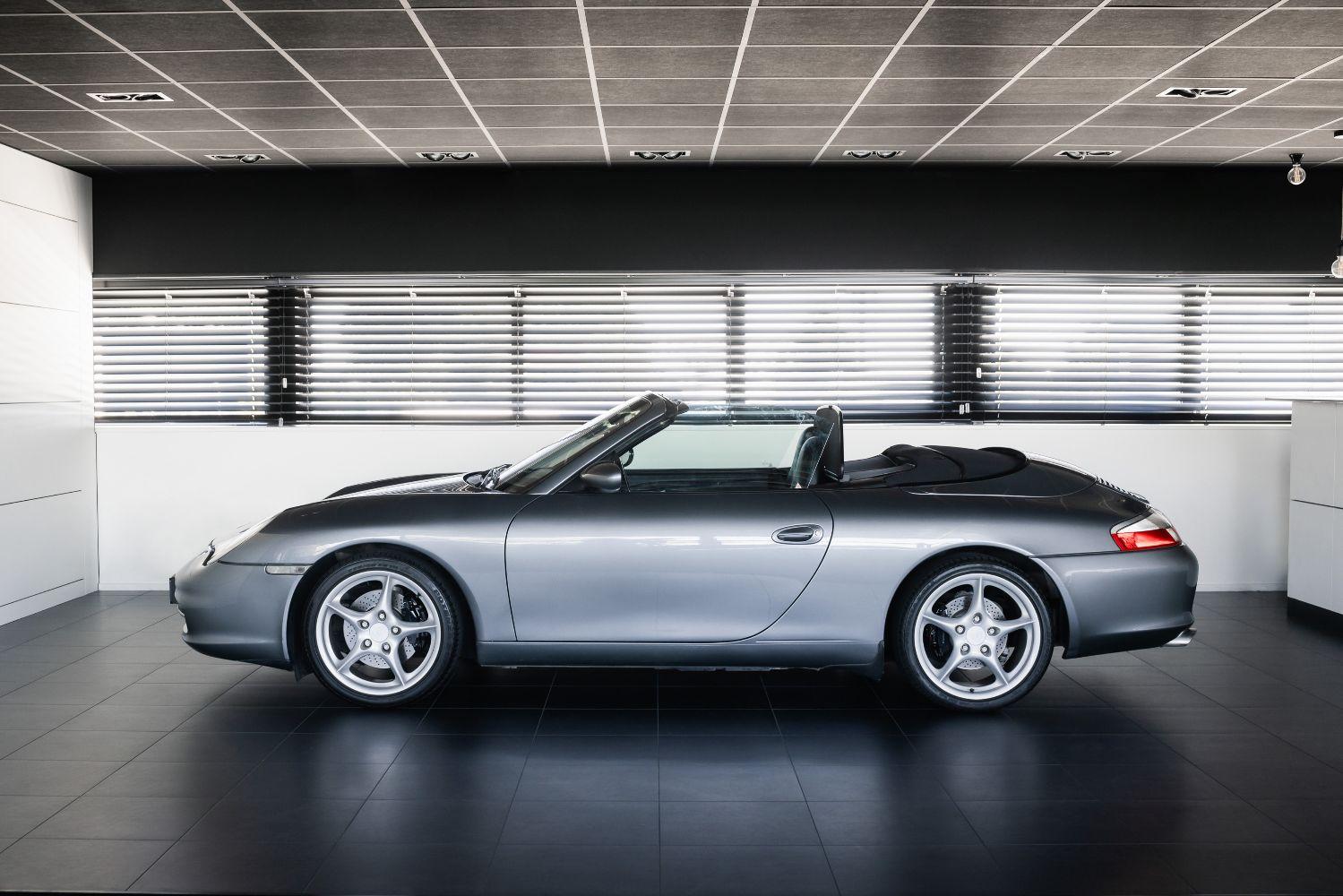 Porsche 996  Cabriolet Verkocht