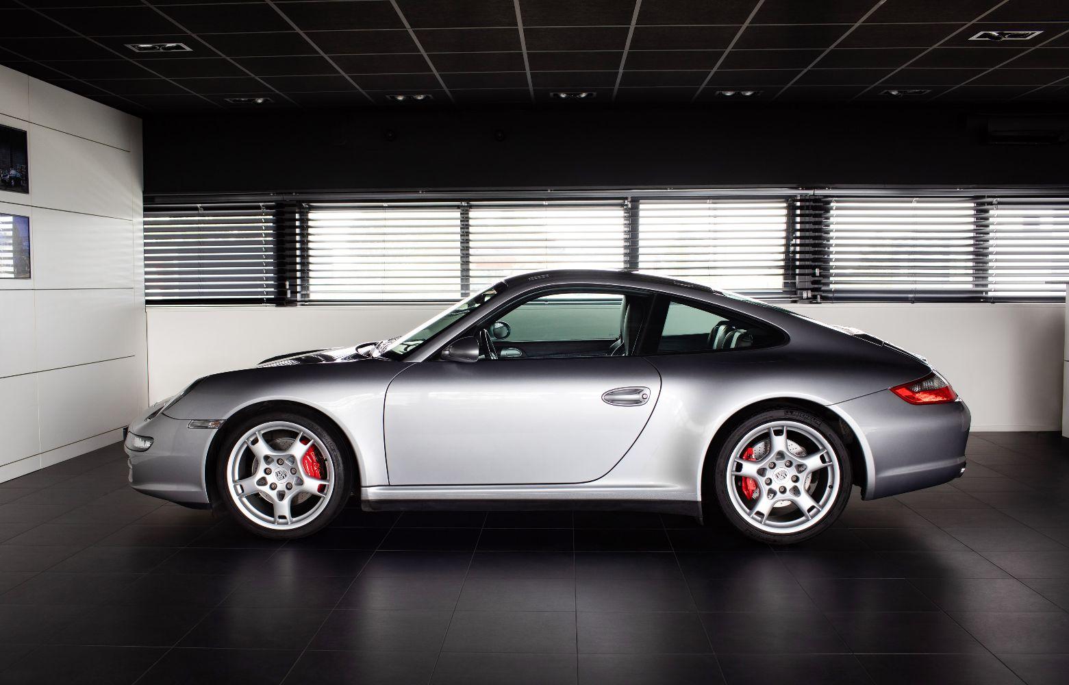 Porsche 997 4s coupe handgeschakeld  verkocht