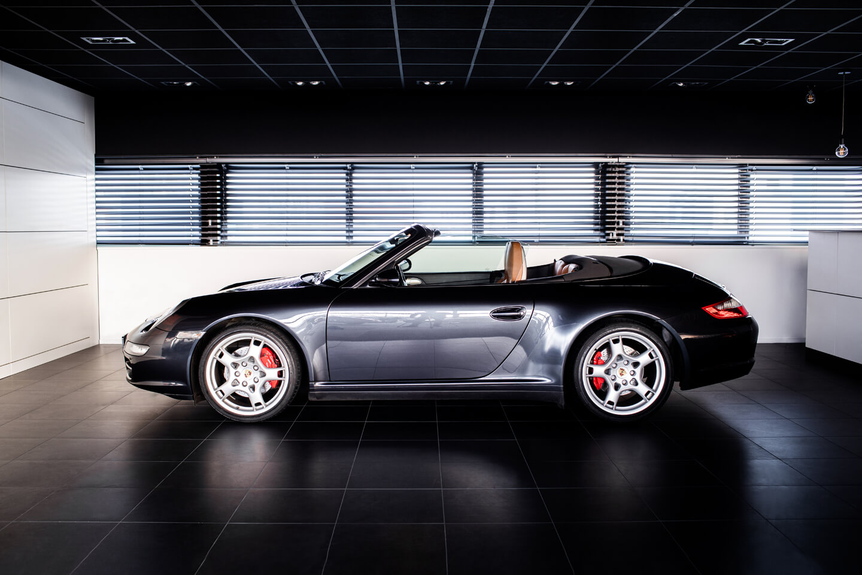 Porsche 997 Carrera 4s  Cabriolet Verkocht