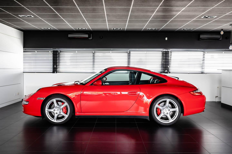 Porsche 997 Carrera 4s Handgeschakeld Verkocht